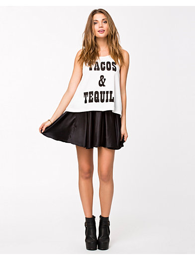 Mexican Madness Tank - Minkpink - Wit - Tops - Kleding - Vrouw - Nelly.com