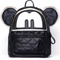 Black mickey with star rivet backpack -shein(sheinside)