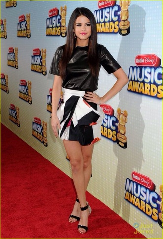 dress selena gomez radio disney music awards disney style t-shirt