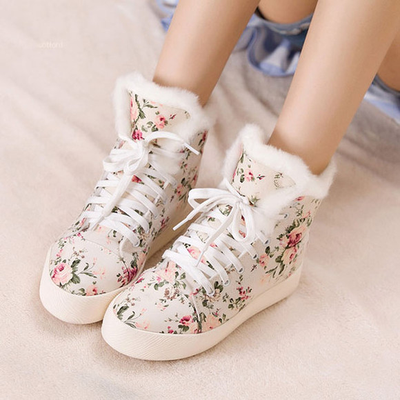shoes flat canvas cute