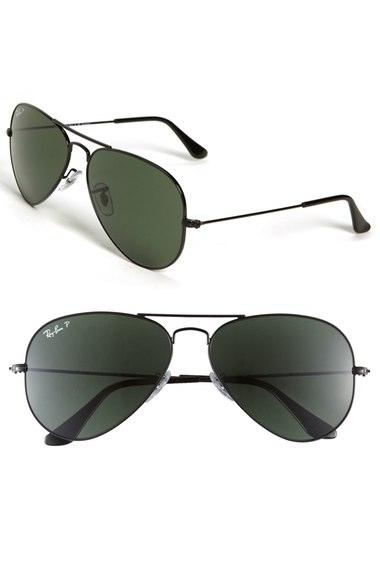 Ray-Ban 'Original Aviator' 58mm Polarized Sunglasses   Nordstrom