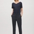 Straight tailored trousers - Shadow Blue - Trousers - COS US