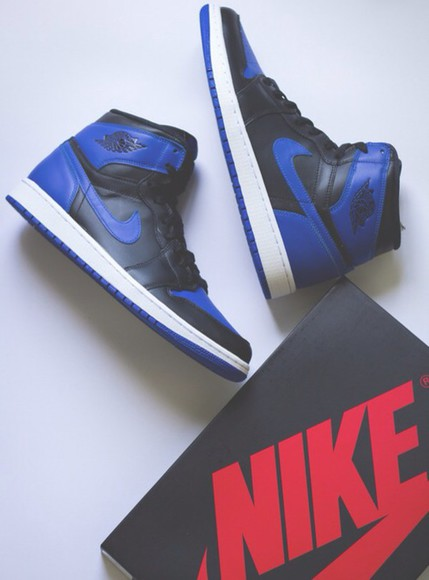 varsity shoes retro i air jordan retro 1 gs high blur blue royal wonderful sneakers
