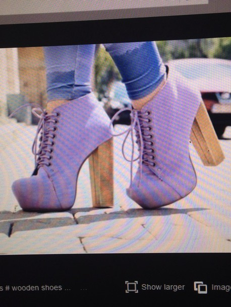 shoes purple shoes pump heels lace up fashion