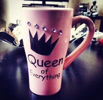 home accessory girly mug queen