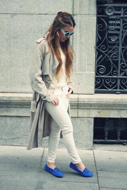 drifting nomad shoes pants coat sunglasses