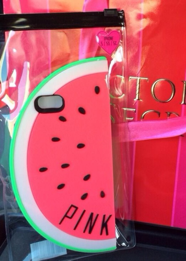 phone cover wow vs watermelon print cover phone cover iphone 5 case victoria's secret iphone case