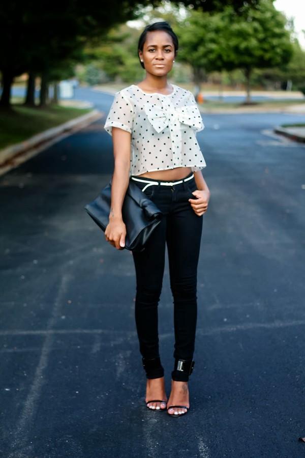 the daileigh t-shirt pants belt bag shoes