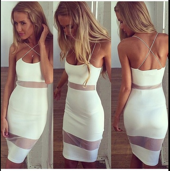 sheer where to get this dress white dress style i need this dress so cute!