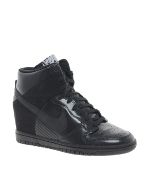 watch 875c5 0773b Nike  Nike - Dunk Sky Hi - Baskets compensées - Noir chez AS