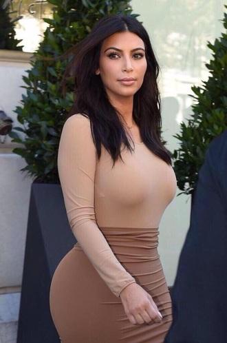 top kim kardashian nude skirt skirt shirt