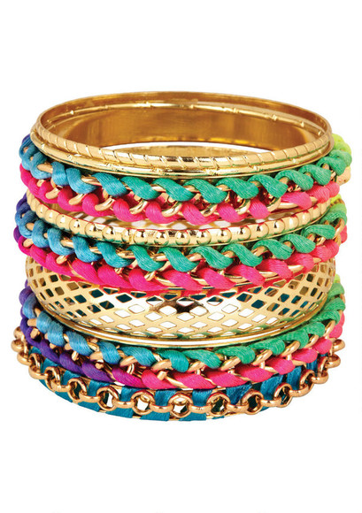 jewels bangles gold fashion accessories summerwear