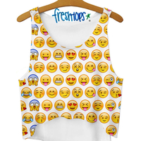 EMOJI CROP TOP on The Hunt
