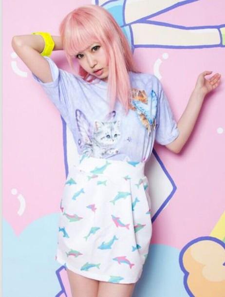 skirt kawaii style fashion pastel dope