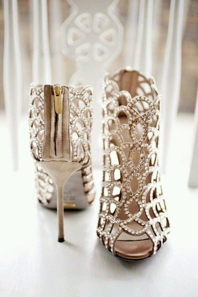 high heels classy elegant shoes wedding shoes prom shoes golden
