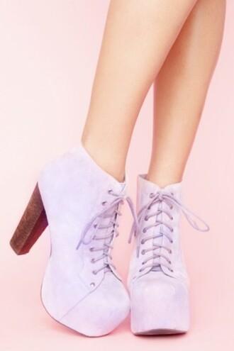 shoes boots laces heels pastel