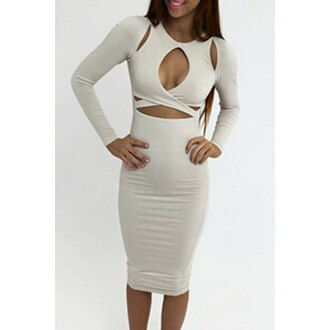 dress rose wholesale white dress bodycon cute outfits bodycon dress