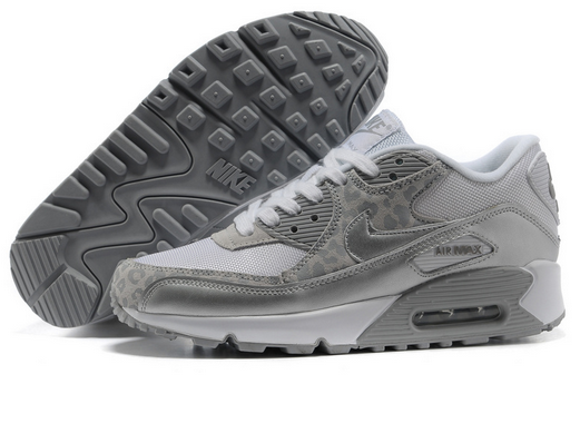 Nike leopard air max 90 hyperfuse mesh women running shoes