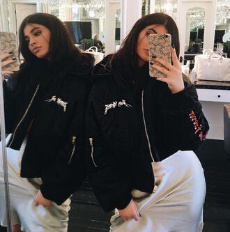 dress camisole kylie jenner kardashians instagram jacket silk dress white