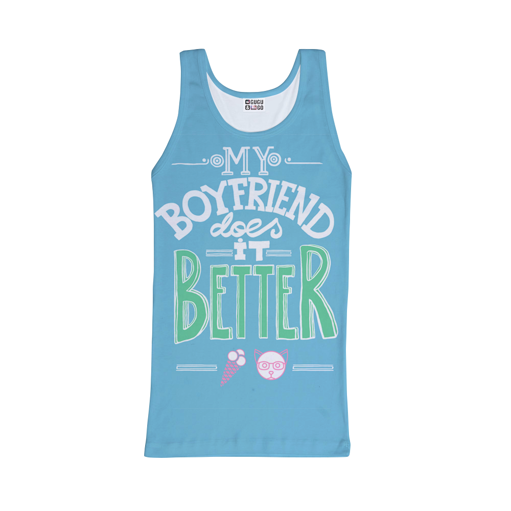 My boyfriend tank-top