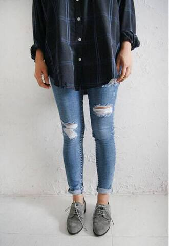 jeans shirt lovely want want want! have this