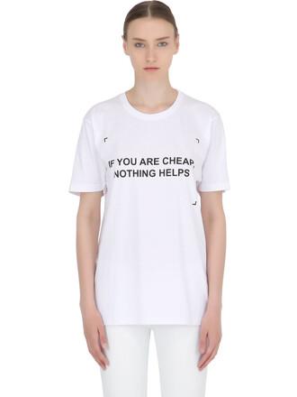 t-shirt shirt cotton white top