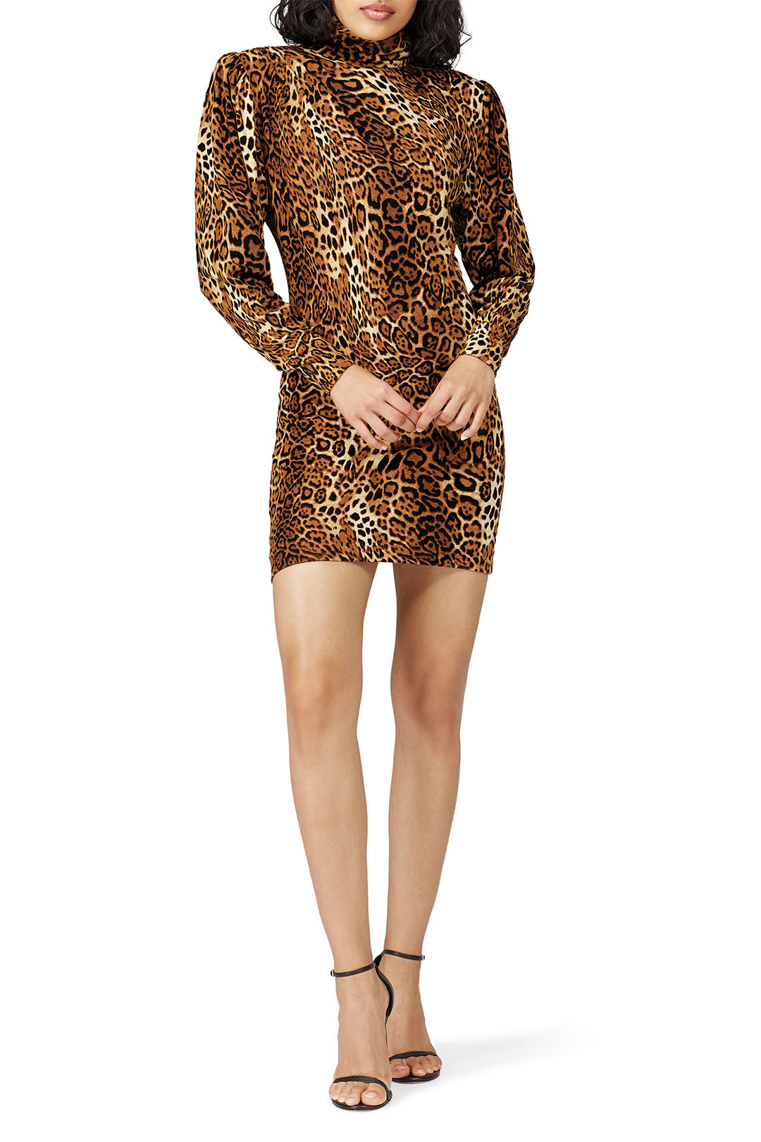 Ronny Kobo Leopard Adina Dress