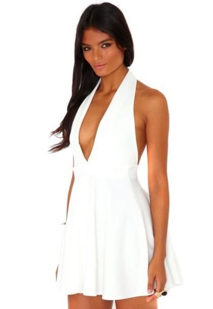 dress white dress marylin monroe