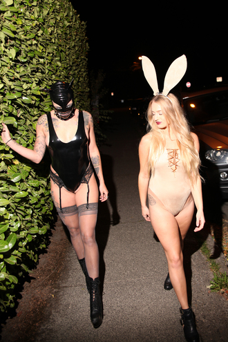bunny sexy bunny playboy halloween costume suede halloween vinyl sexy halloween costume sexy halloween accessory