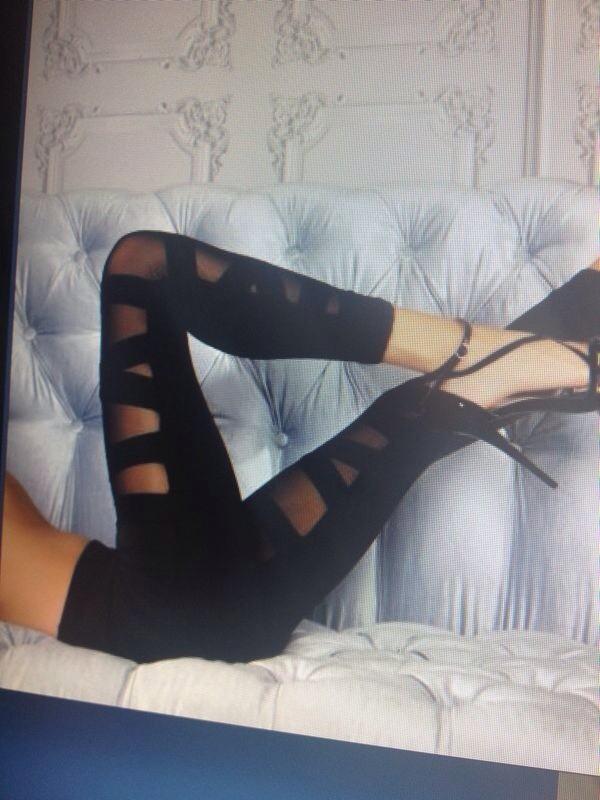 pants black black leggings fashion new b&w beautiful