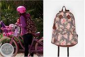 bag,cat valentine,ariana grande,sweet,victorious,bruinett,little red,grande,roses,t-shirt