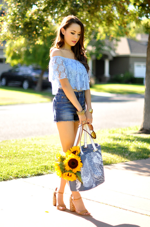 hapa time top jeans shoes bag jewels shorts