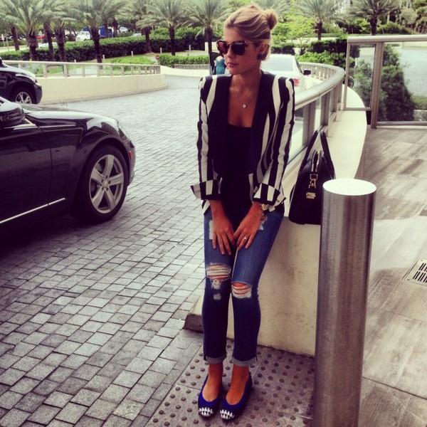 lala & maria rudge bag jacket jeans