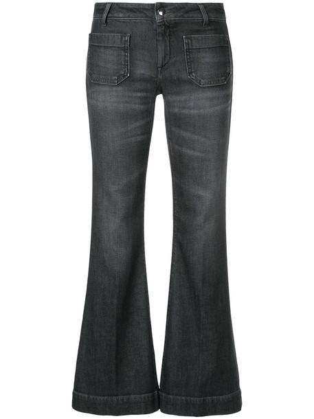 The Seafarer jeans cropped women cotton grey