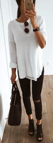 top,sweater,shirt,white,thermal top