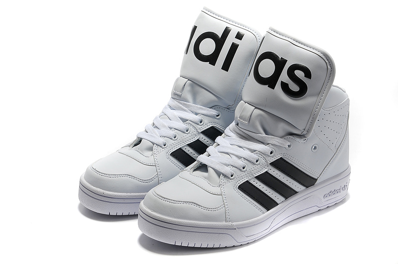 Buy Authentic 2012 White Black Adidas JS Big Tongue On Cheap Original Adidas JS Big Tongue Online Shop