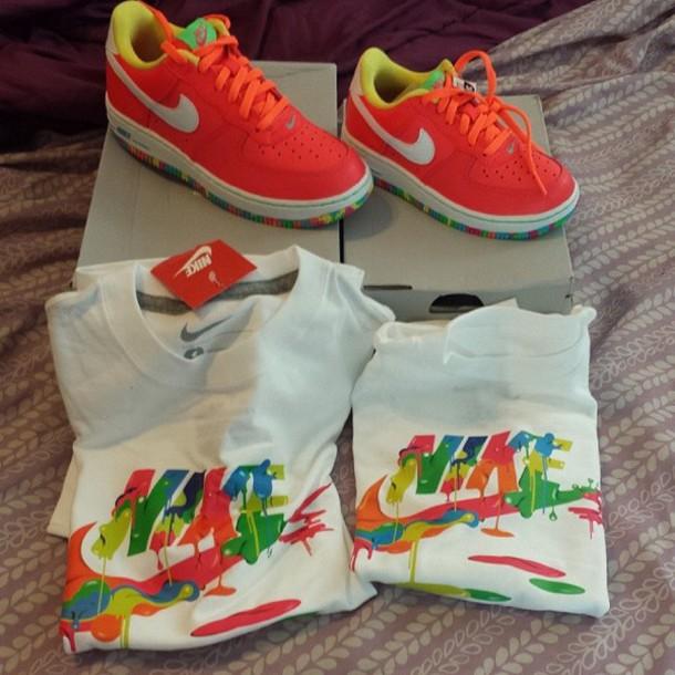 shirt nike air colorful