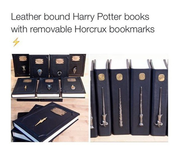 home accessory book harry potter