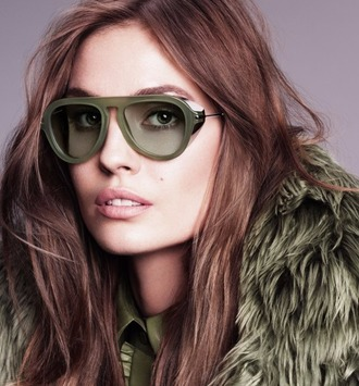 sunglasses gucci luxury designer green 70s style army green aviator sunglasses summer high end