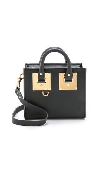 mini bag tote bag black