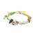Venessa Arizaga Party Animals Bracelet - Green Multi
