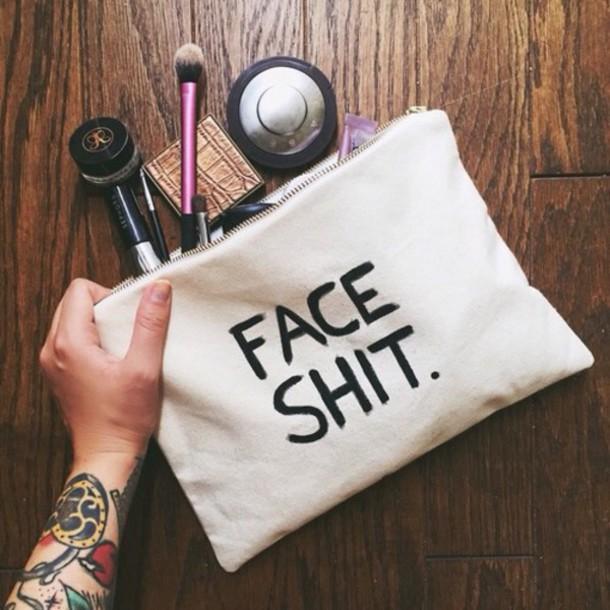 bag make-up home accessory cosmetic makeup bag makeup bag make-up travel travel size bag