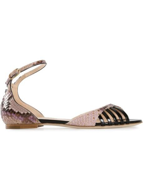 CHLOE GOSSELIN sandals purple pink shoes