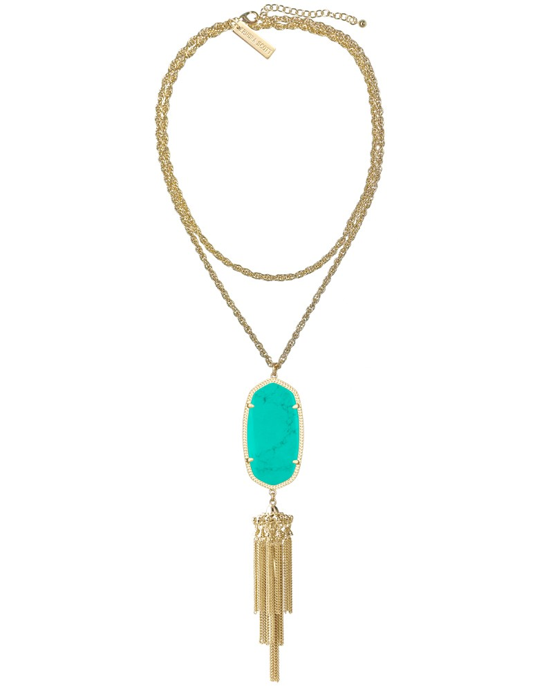 Rayne Necklace in Teal - Kendra Scott Jewelry