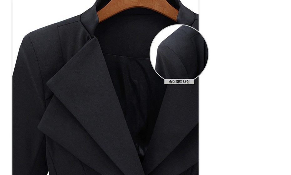 Autumn New Women's Wholesale Double Collar Slim Dress Blazer Shrug Small Suit Jacket Free shipping-in Blazer & Suits from Apparel & Accessories on Aliexpress.com