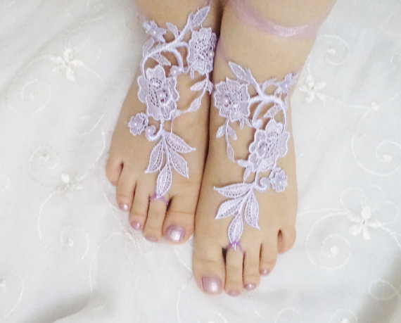Shoes Wedding Shoes beach shoes bridal sandals door BloomedFlower