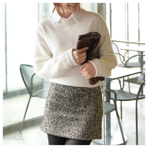 Cute sweater knit pullover top from doublelw on storenvy