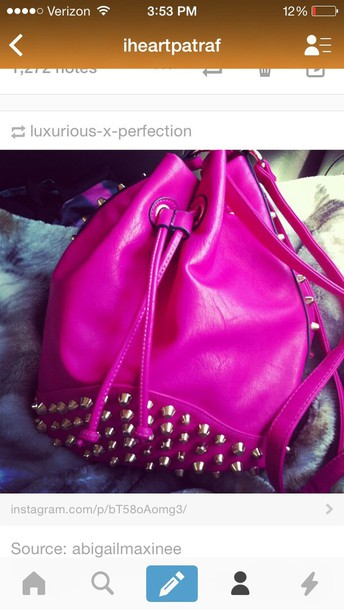 bag style fashion pink purse pink dress