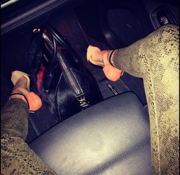 shoes high heels orange shoes cute high heels