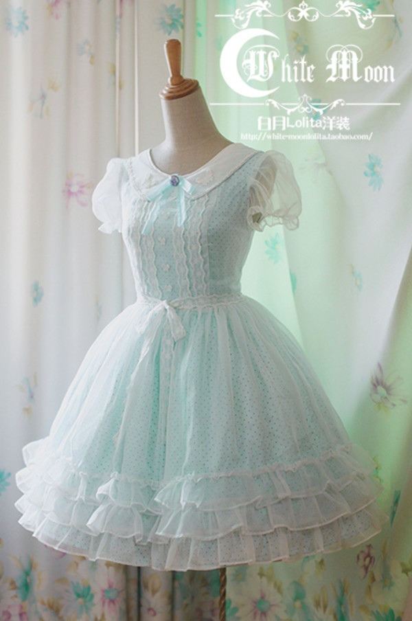 Dress Cute Dress Kawaii Kawaii Japanese Style Fur